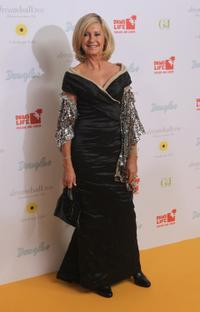 Olivia Newton-John at the Dreamball 2010 charity gala.