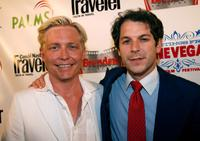 Mike O'Connell and Peter Kline at the screening of