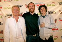Mike O'Connell, director Sol Tryon and Jesse Eisenberg at the screening of