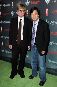 Mike O'Connell and Ken Jeong at the Variety's 2nd Annual Power of Comedy Event.