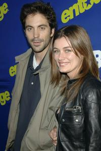 Rhys Coiro and Catherine Cunningham-Eaves at the premiere of