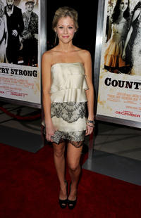 Katrina Begin at the California premiere of