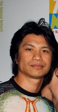 Dustin Nguyen at the New TNN 2002 Upfront.