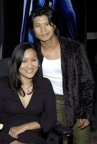 Dustin Nguyen at the premiere of