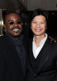 Reginald T.Dorsey and Dustin Nguyen at the Breakthrough Brit Week, Breakthrough Brits Gala Reception.