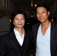 Dustin Nguyen and Sung Kang at the Breakthrough Brit Week, Breakthrough Brits Gala Reception.