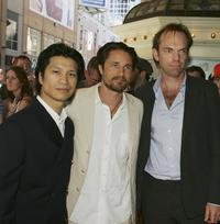 Dustin Nguyen, Martin Henderson and Hugo Weaving at the premiere of