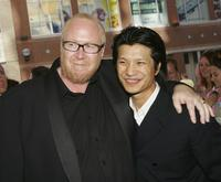 Rowan Weeds and Dustin Nguyen at the premiere of