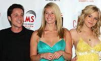 Thomas Ian Nicholas, Chelsea Handler and Jenny Mollen at the world premiere of