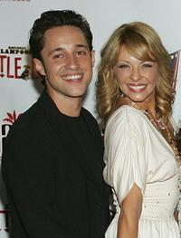 Thomas Ian Nicholas and Lisa Arturo at the world premiere of