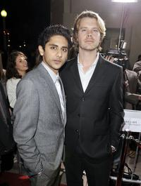 Adhir Kalyan and Eric Christian Olsen at the premiere of