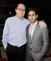 Charles Weinstock and Adhir Kalyan at the premiere of