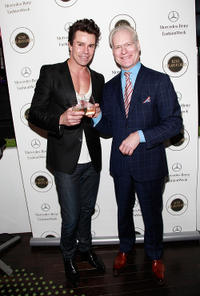Patrick Duffy and Tim Gunn at the Day 8 of Mercedes-Benz Fashion Week Fall 2011.