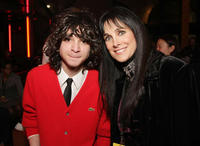 Adam G. Sevani and actress Connie Sellecca at the after party of the L.A. premiere of