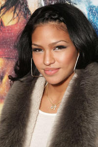 Actress Cassie Ventura at the L.A. premiere of