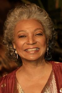 Nichelle Nichols at the NBC's 75th Anniversary All-Star Reception.