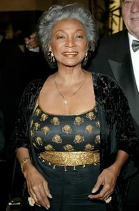 Nichelle Nichols at the 32nd Annual Nosotros Golden Eagle Awards.