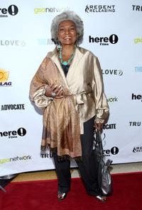 Nichelle Nichols at the premiere of