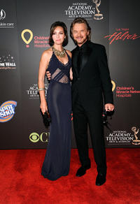 Stephen Nichols and Guest at the 38th Annual Daytime Entertainment Emmy Awards in Nevada.