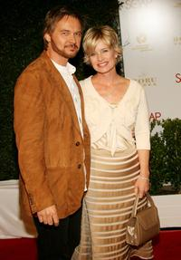 Stephen Nichols and Mary Beth Evans at the annual Daytime Emmy nominee party.