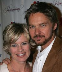 Mary Beth Evans and Stephen Nichols at the NBC's