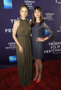 Whitney Able and Jocelin Donahue at the premiere of