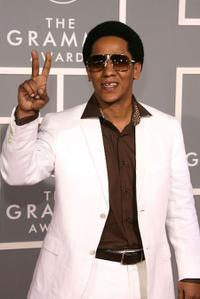 Tego Calderon at the 49th Grammy Awards.
