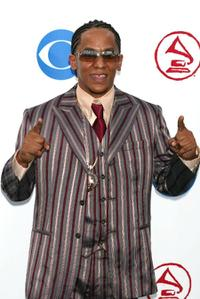 Tego Calderon at the 4th Annual Latin Grammy Awards.