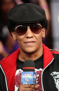 Tego Calderon at the MTV's MI TRL.