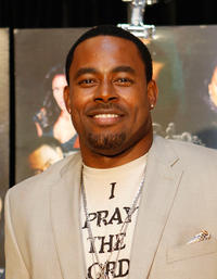 Lamman Rucker at the premiere of
