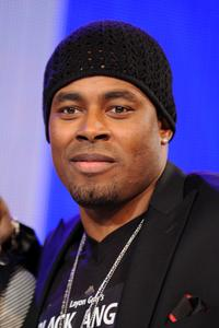 Lamman Rucker at the BET's 106 and Park in New York City.