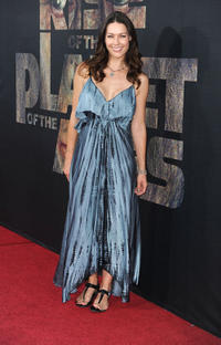 Louise Griffiths at the California premiere of