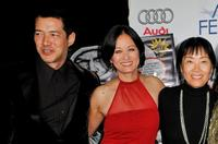 Russell Wong, Julia Nickson and Anna Chi at the 2008 AFI FEST.