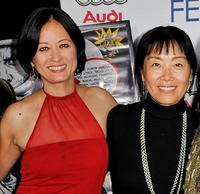 Julia Nickson and Anna Chi at the 2008 AFI FEST.