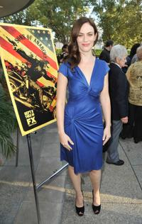Maggie Siff at the season two premiere of