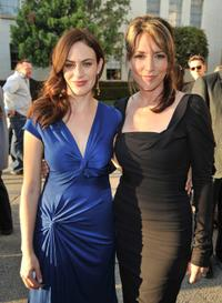 Maggie Siff and Katey Sagal at the season two premiere of