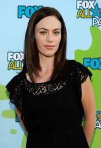 Maggie Siff at the 2009 FOX All-Star Party.