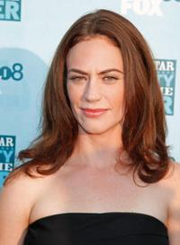 Maggie Siff at the FOX All-Star party.