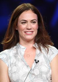 Maggie Siff at the Television Critics Association Press Tour.
