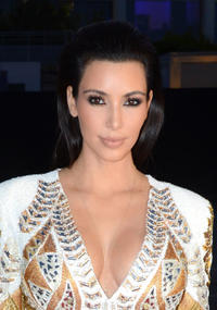 Kim Kardashian at the red carpet of Doha Film Institute during the 65th Annual Cannes Film Festival.