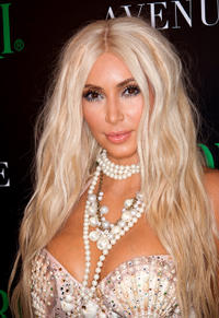 Kim Kardashian at the 2nd Annual Midori Green Halloween party in New York.