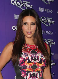 Kim Kardashian at the Quick Trim VIP Event in Melbourne.