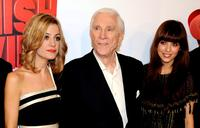 Alexandra Jimenez, Leslie Nielsen and Michelle Jenner at the premiere of