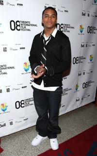 Chris Warren Jr. at the premiere of