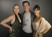 Lisa Niemi, Patrick Swayze and Lorena Feijoo at the AFI Fest 2005.