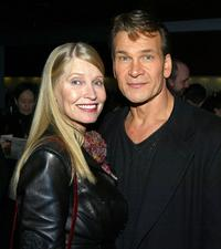 Lisa Niemi and Patrick Swayze at the after party of the Los Angeles premiere of