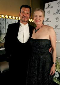 Patrick Swayze and wife Lisa Niemi at the 9th annual Costume Designers Guild Awards.
