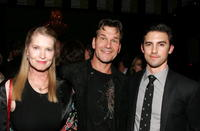 Lisa Niemi, Patrick Swayze and Milo Ventimiglia at the premiere of