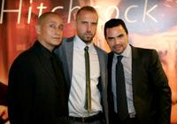 Juan Fernandez, Josh Crook and Manny Perez at the screening