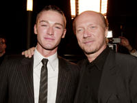 Jake McLaughlin and producer/director Paul Haggis at the California premiere of